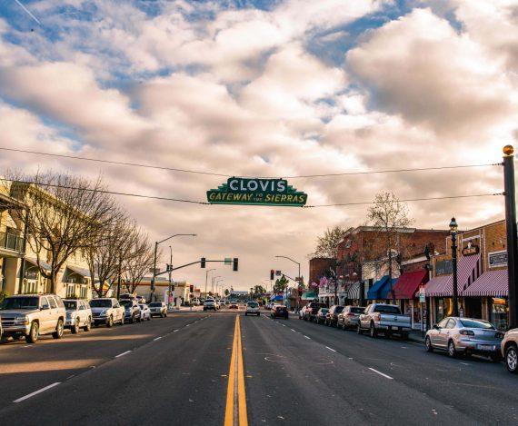 Clovis Ave